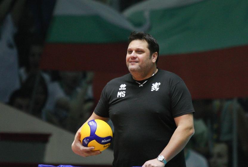 Бившият селекционер на мъжкия национален отбор Мартин Стоев, който в