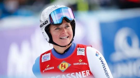 Швейцарката Корине Зутер записа първа победа в кариерата си за