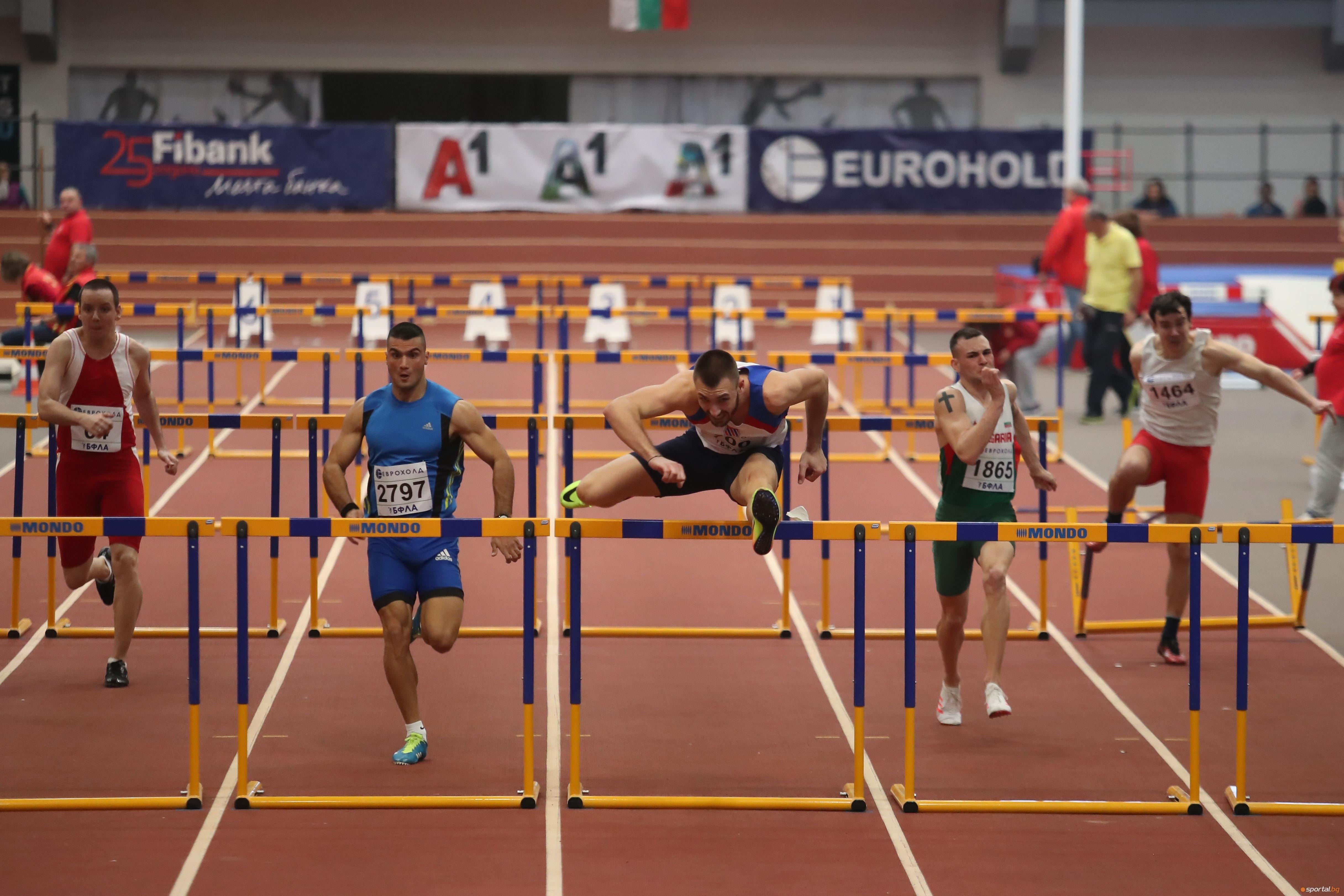 Станислав Станков записа безапелационна победа на 60 метра с препятствия
