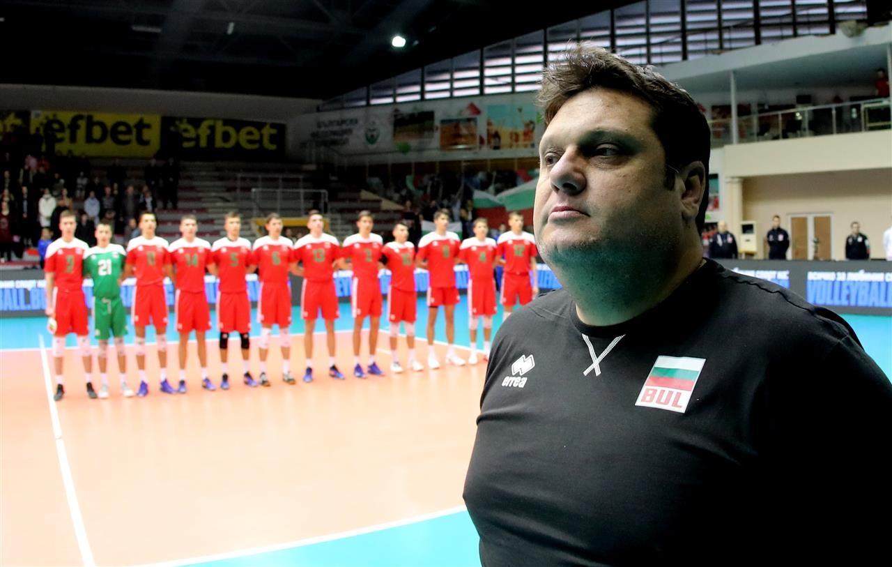 Младите волейболисти на България под 18 години загубиха от Турция