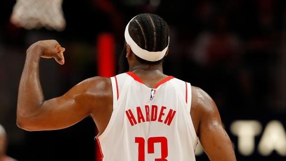 Джеймс Хардън стана 45-ият играч в историята на НБА, вкарал