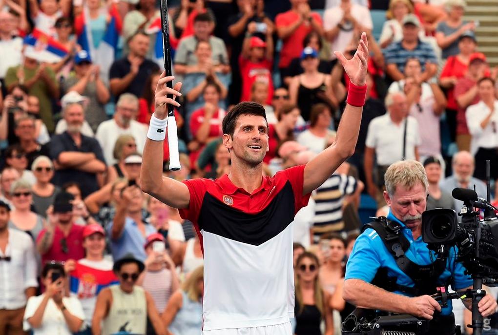 Сръбският тенисист Новак Джокович беше определен за рекорден шести път