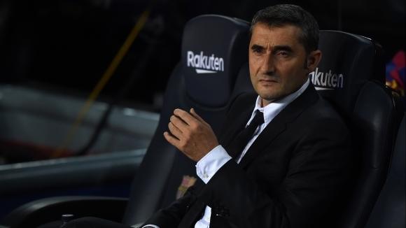 Въпреки че Барселона стана зимен шампион в Ла Лига, Ернесто
