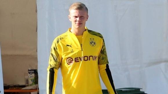 Новото попълнение Ерлинг Холанд може да дебютира за Борусия Дортмунд