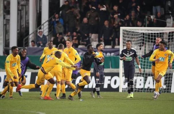Отборът на Бордо сензационно отпадна още в 1/16-финалите на турнира