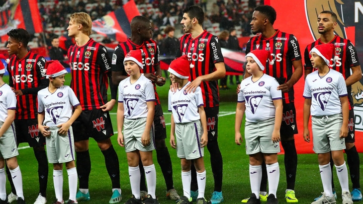 2000 евро глоба отнесе от френската професионална лига отборът на