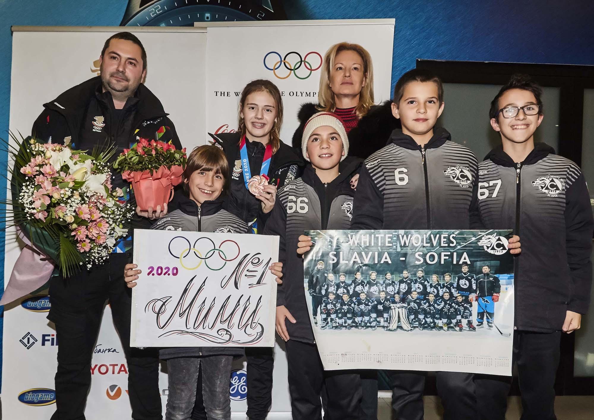 Мария Руневска донесе първото отличие на България на Зимната младежката