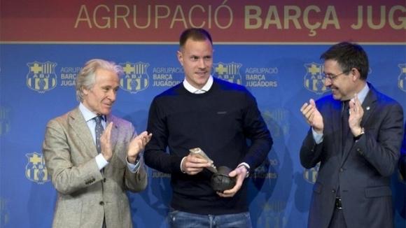 Вратарят на Барселона Марк-Андре тер Стеген първи от играчите говори