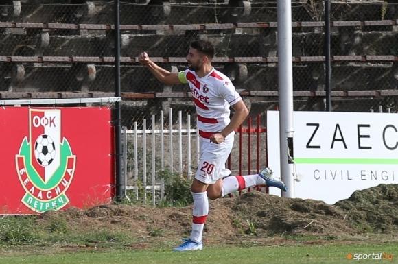 Още един футболист на Беласица Петрич премина във Вихрен Сандански.