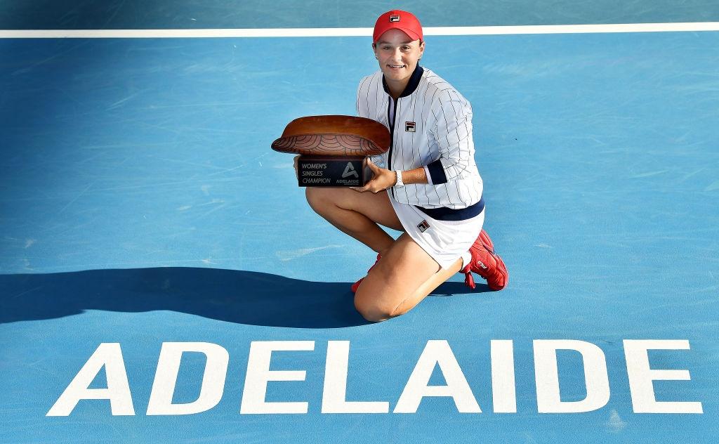Ашли Барти спечели титлата от турнира по тенис в Аделаида