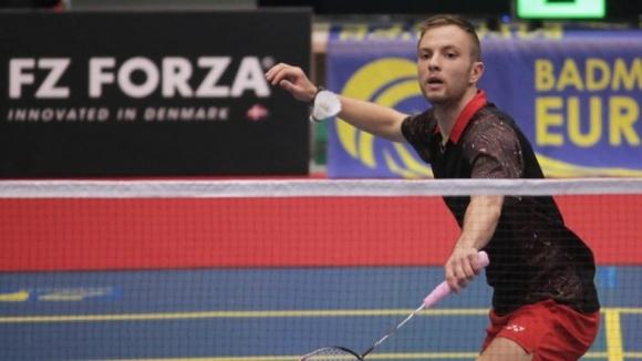 Димитър Янакиев отпадна на четвъртфиналите на международния турнир по бадминтон