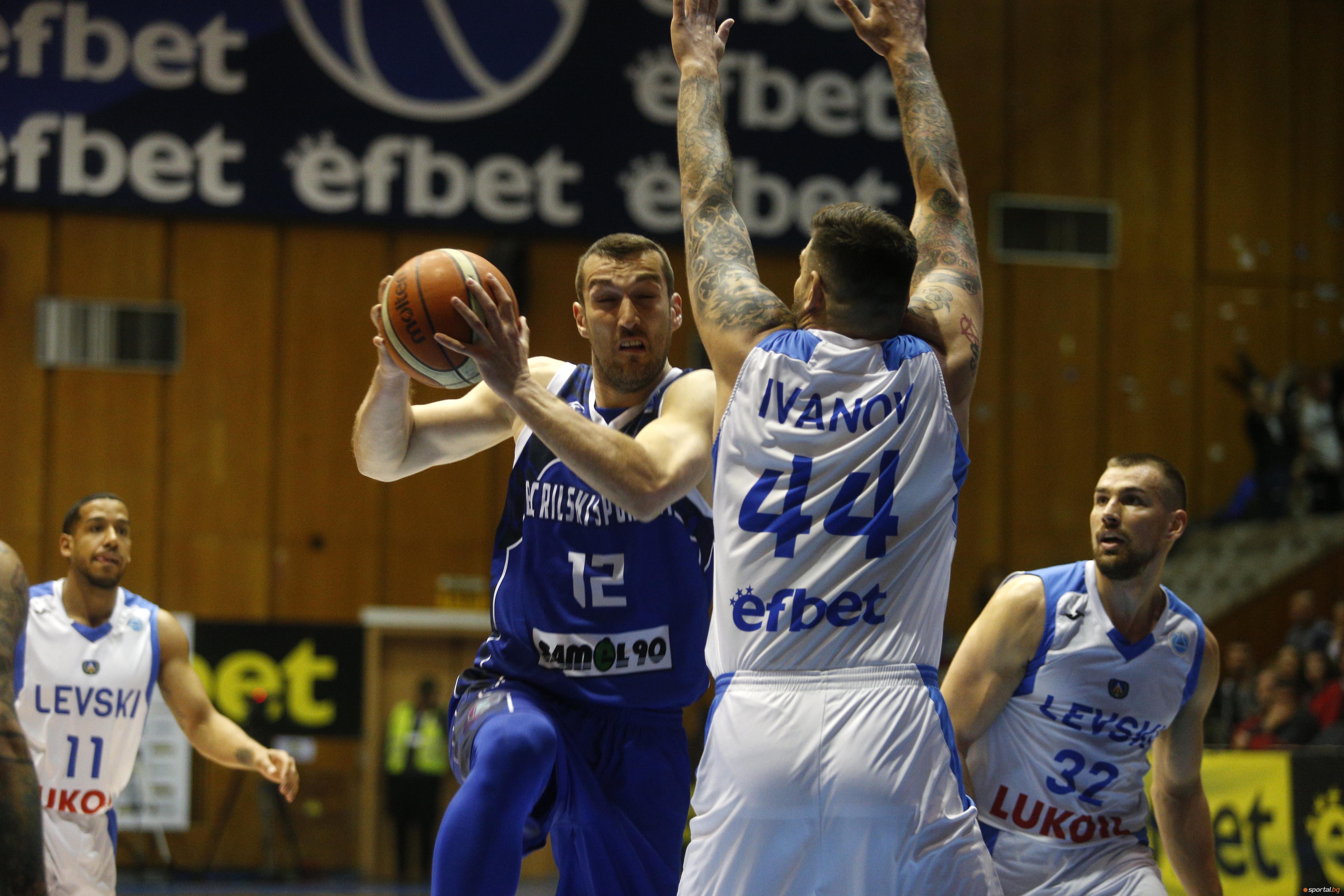 Отборът на Рилски спортист (Самоков) спечели прекия сблъсък за третото