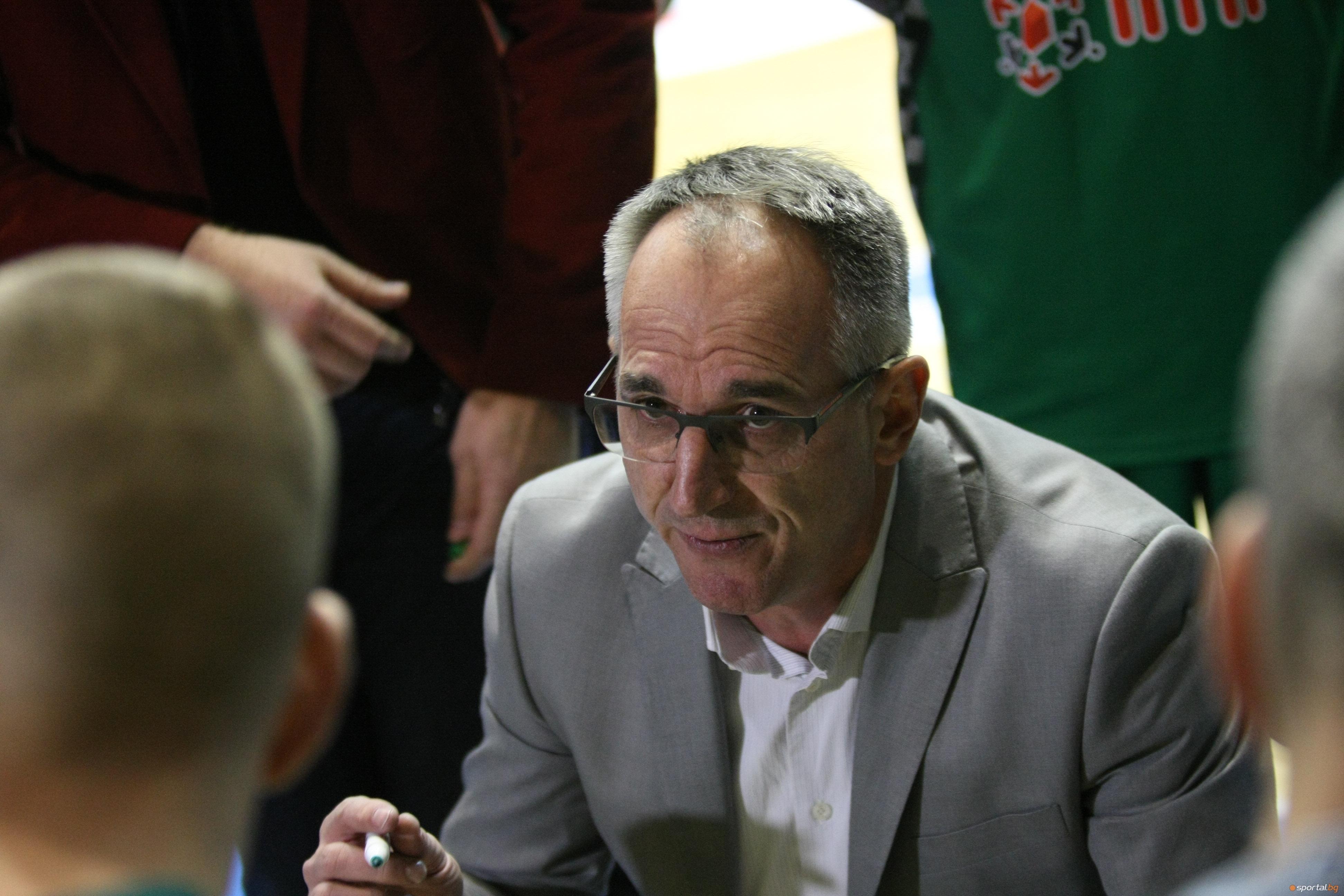 Старши-треньорът на Балкан (Ботевград) Йовица Арсич коментира след победата над