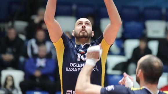 Разпределителят на волейболният Хебър (Пазарджик) Георги Братоев сподели след победата
