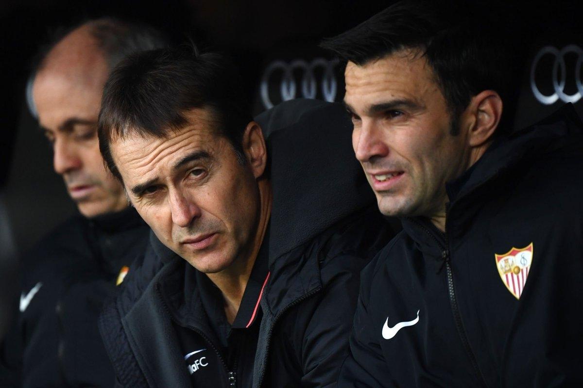 Старши треньорът на Севиля Юлен Лопетеги беше изключително ядосан след