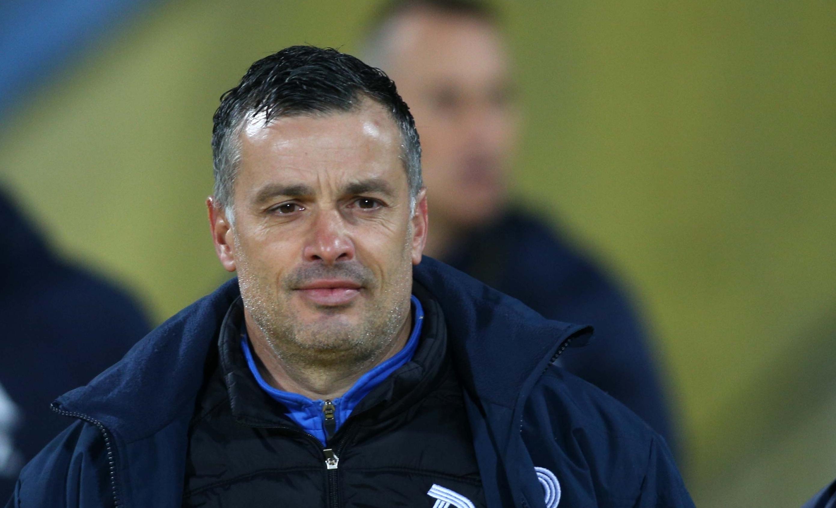 Старши треньорът на Дунав Людмил Киров изрази недоволството си от