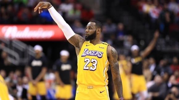 Мачове от редовния сезон в Националната баскетболна асоциация (НБА) на