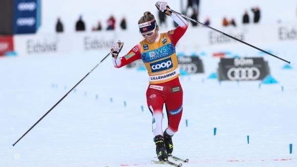 Норвежката Терезе Йохауг спечели убедителна победа в преследването на 10