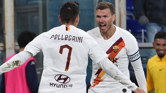 Отборът на Рома постигна победа с 3:1 като гост на