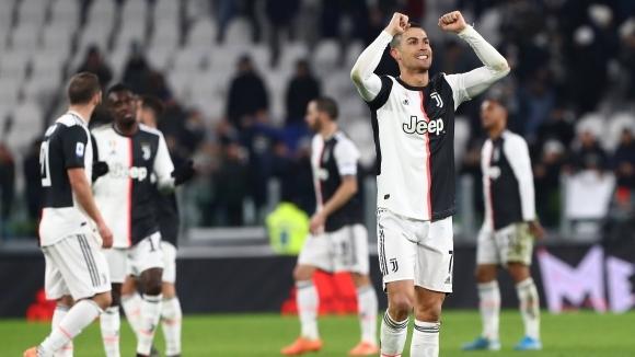 Суперзвездата на Ювентус Кристиано Роналдо отчете важността на днешната победа