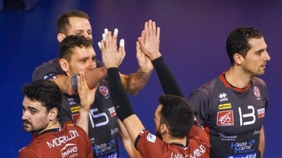 Българският волейболист Иван Колев дебютира за новия си френски клуб