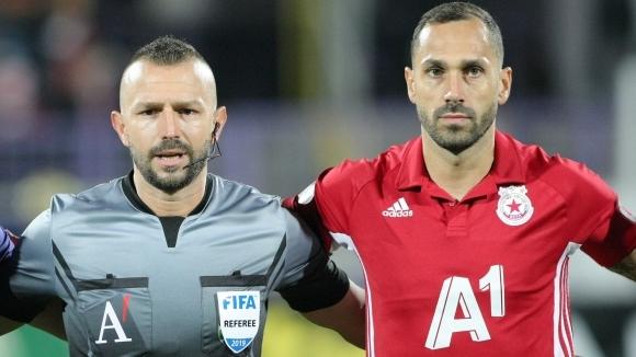 Капитанът на ЦСКА-София Петър Занев беше много разочарован от тежкото