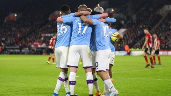 Изоставането на Манчестър Сити от лидера Ливърпул се увеличава почти
