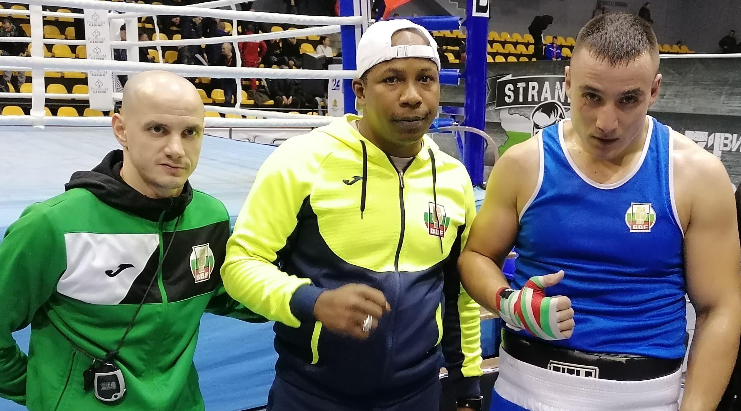 Третият в света в категория до 91 килограма Радослав Пнаталеев