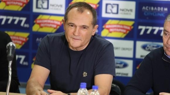 Собственикът на Левски Васил Божков обяви на пресконференция, че ако