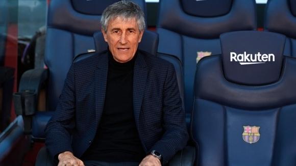 Треньорът на Барселона Кике Сетиен призна чистосърдечно, че не му