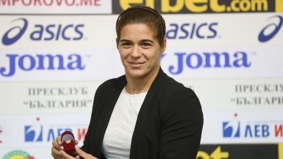 Тайбе Юсеин, двукратна европейска шампионка и сребърна медалистка от световното,