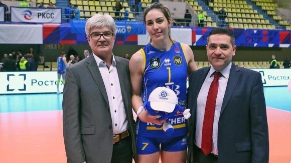 Капитанката на волейболния Марица (Пловдив) Лора Китипова беше избрана за