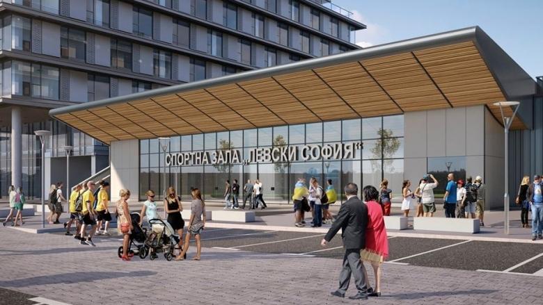 Строящата се в рамките на комплекса Garitage Park зала ще