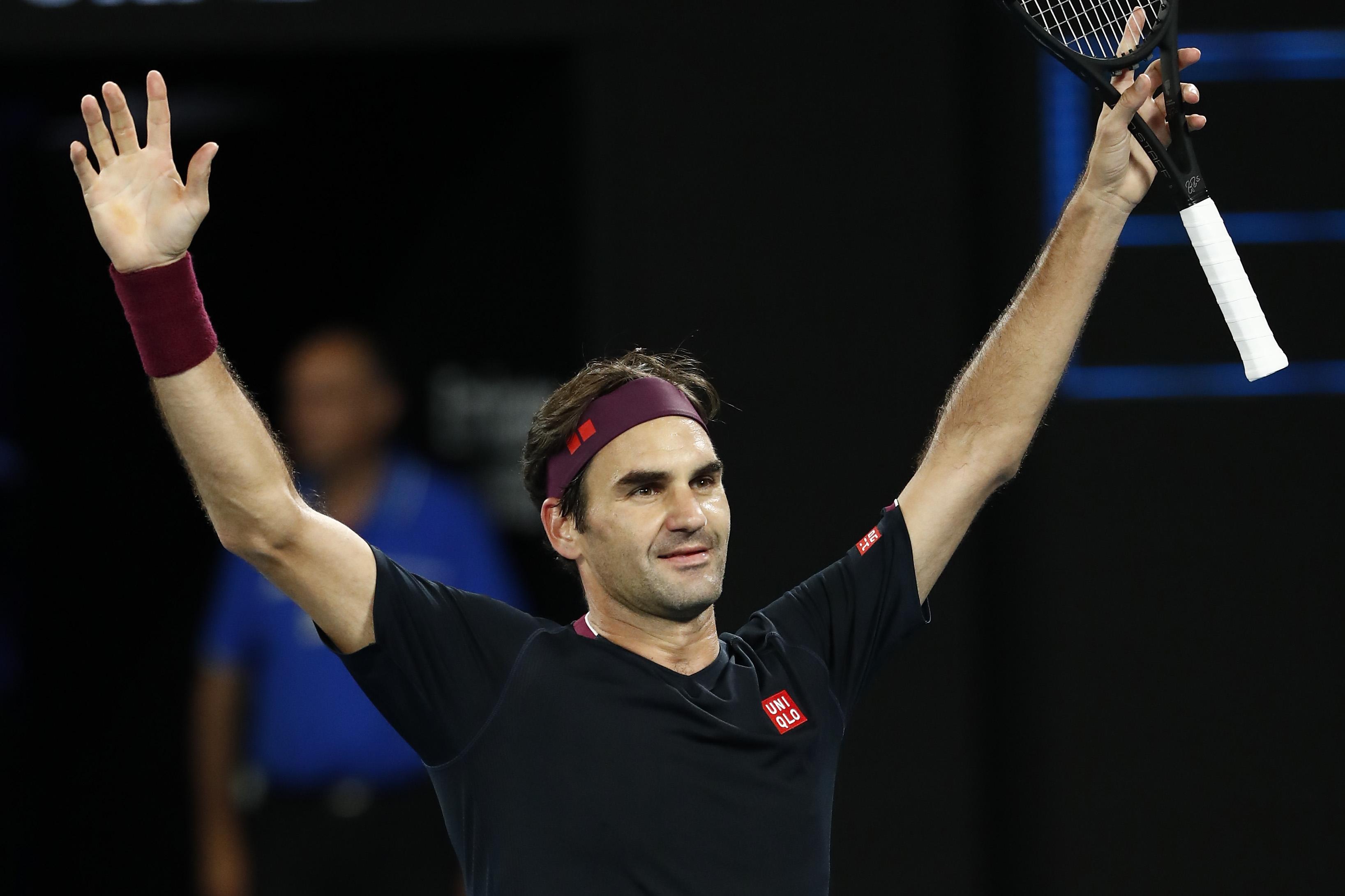 """Носителят на 20 титли от """"Големия шлем"""" Роджър Федерер бе"""