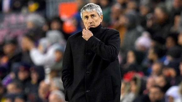 Старши треньорът на Барселона Кике Сетиен призна, че харесва нападателя