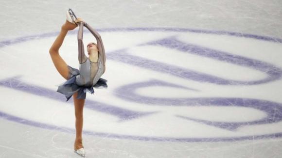 Шампионката на България Александра Фейгин се класира за волната програма