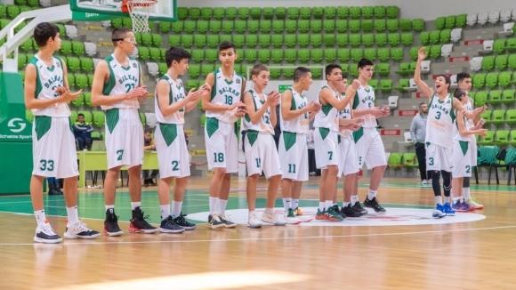 Отборът на Балкан за момчета до 15 години постигна трети