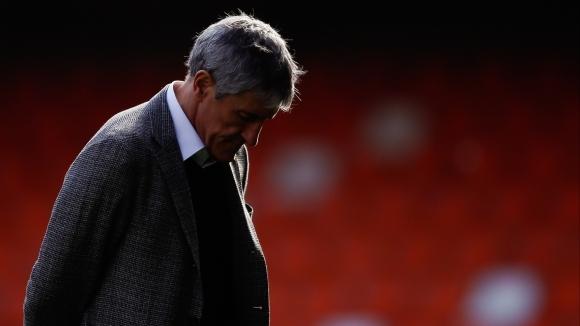 Новият старши треньор на Барселона Кике Сетиен призна, че отборът