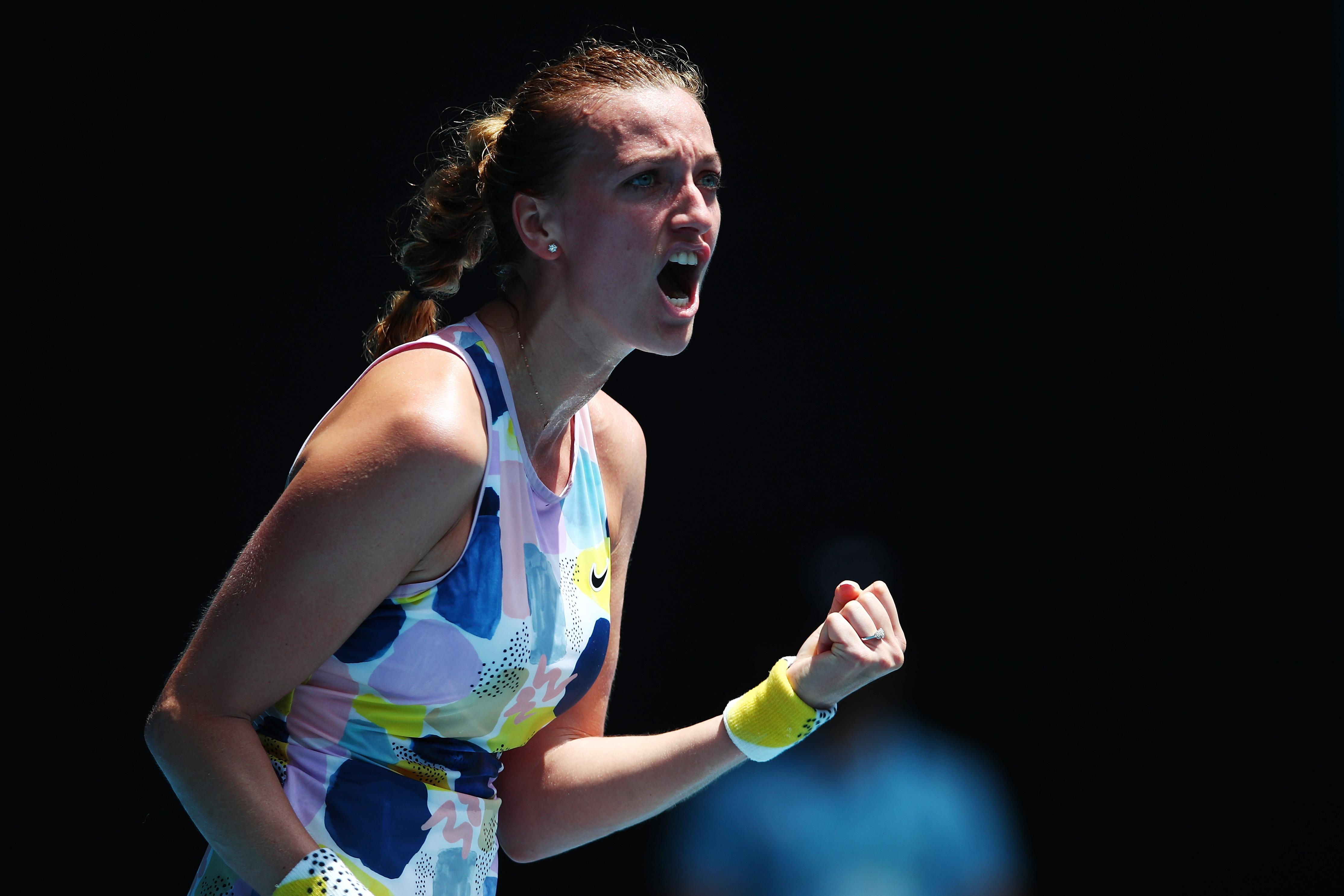 Петра Квитова е първата 1/4-финалистка на Australian open. Тази нощ