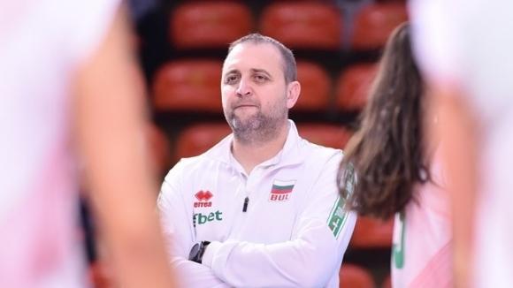 Селекционерът на женския ни национален отбор по волейбол Иван Петков