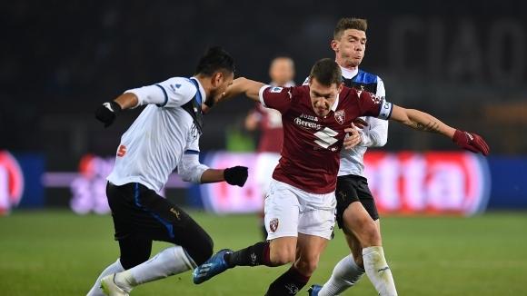 Нападателят на Торино Андреа Белоти коментира тежкото поражение от Аталанта