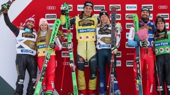 Любителите на Световната купа по ски крос изживяха изключително емоционални