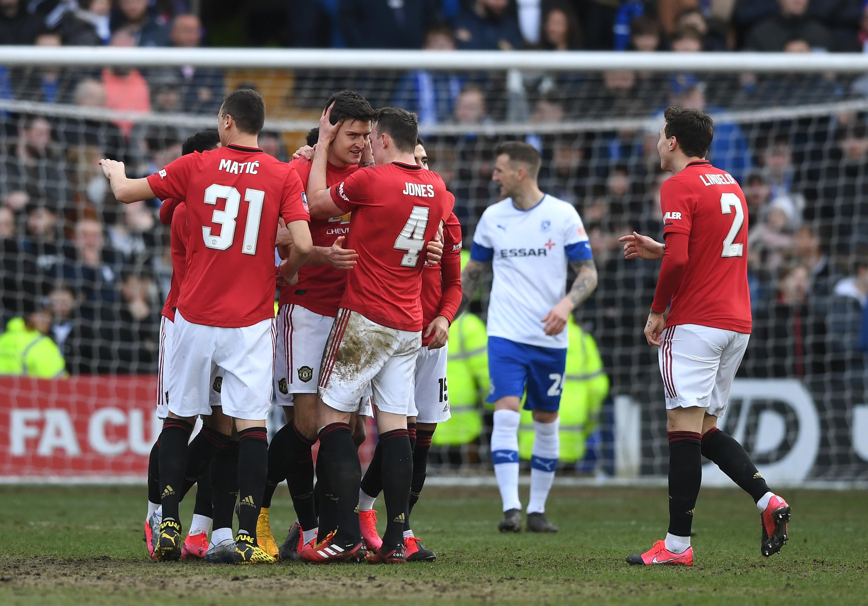 """Манчестър Юнайтед зарадва феновете си с голова фиеста. """"Червените дяволи"""""""