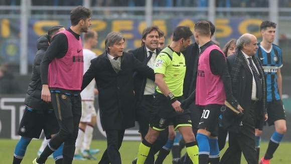 Играчите на Интер и техният наставник Антонио Конте отказаха да