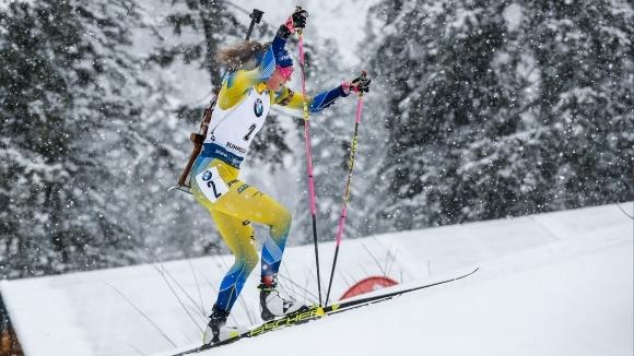 Олимпийската и световна шампионка на 15 км Хана Йоберг (Швеция)