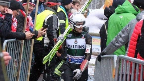Единственият българин в Световната купа по ски скокове Владимир Зографски