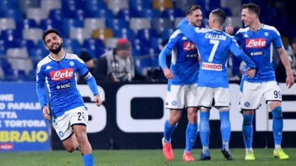 Отборите на Наполи и Ювентус играят при резултат 0:0 на