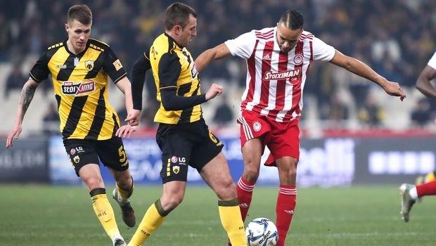 Голямото дерби на 21-ия кръг на гръцката Супер лига между