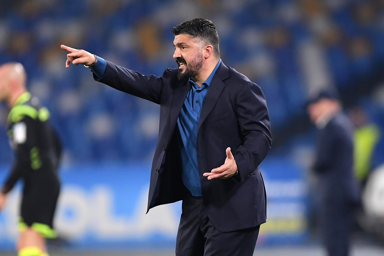 Треньорът на Наполи Дженаро Гатузо бе много доволен от успеха