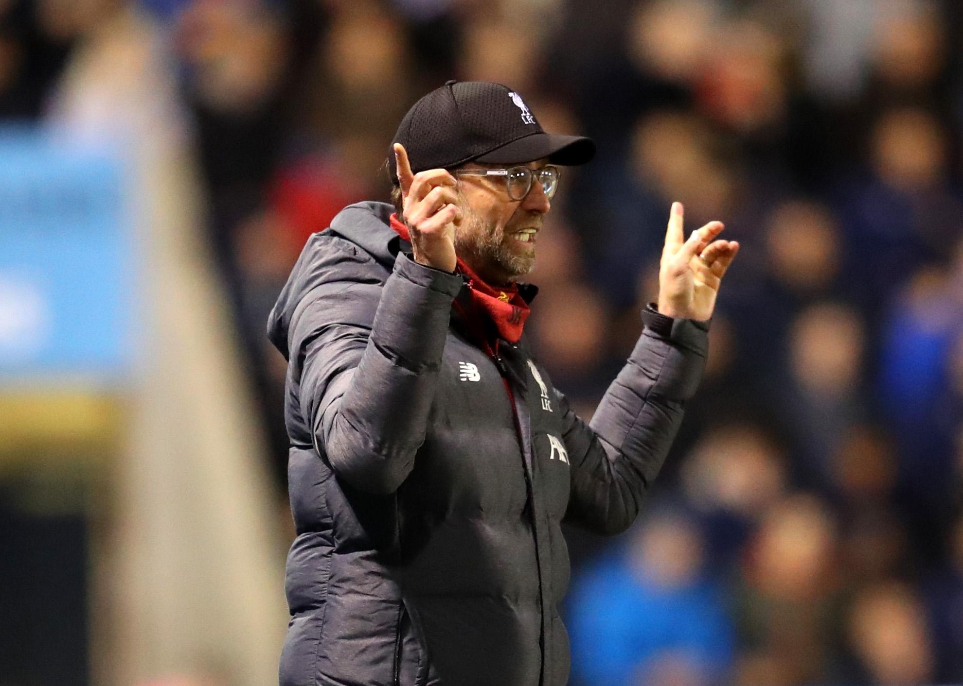 Мениджърът на Ливърпул Юрген Клоп имаше доста забележки към своите